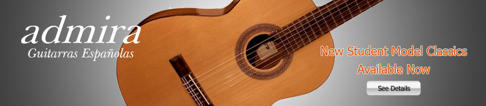 New Admira Student Classical Guitars