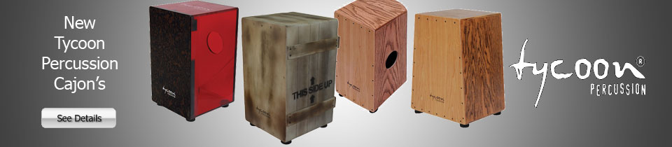 Tycoon Percussion Cajon;s