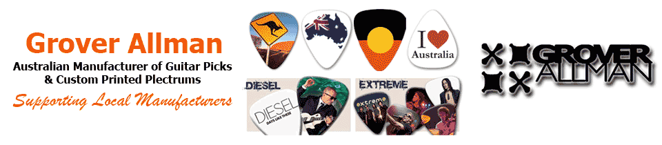 Grover Allman Guitar Picks