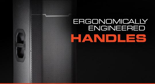JBL PRX400 Series Ergonomic Handles