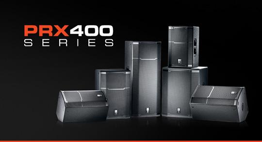 JBL PRX400 Series Intro