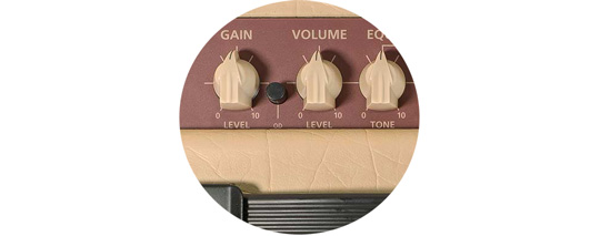 Debut Series have natural sounding clean & overdrive tones.