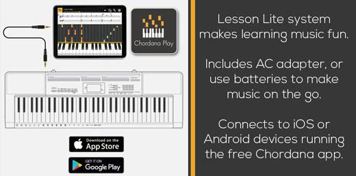 Casio Free Chordana Play App