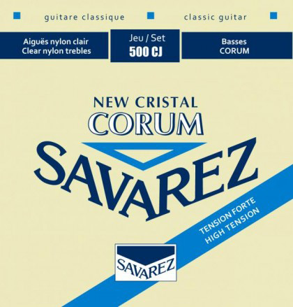 Cort AC70 Classical Guitar comes with Savarez Strings