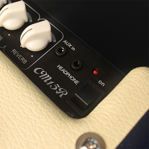 Cort CM15R Auxiliary In and Headphone Out