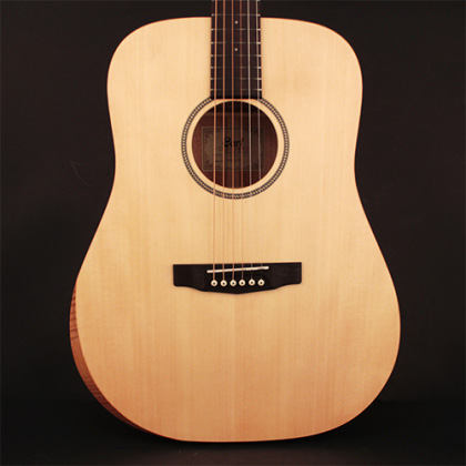 Cort Earth Bevel Cut Acoustic Guitar featuring Solid Sitka Spruce Top