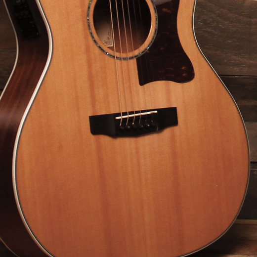 Cort GA5F-BW Solid Red Cedar Top