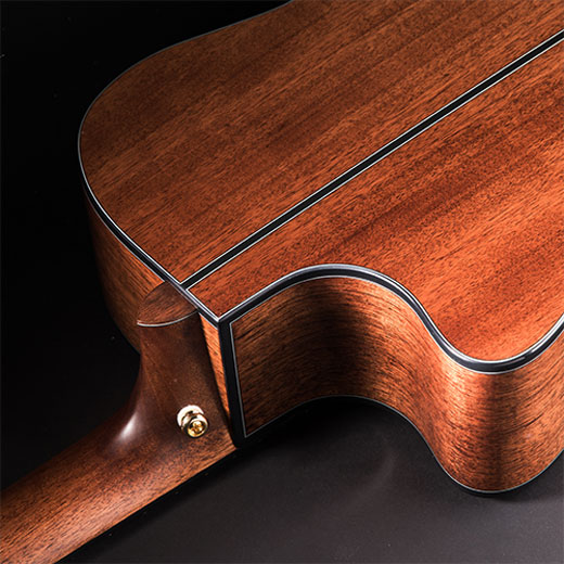 Cort Gold-A6 Solid Mahogany Back and Sides