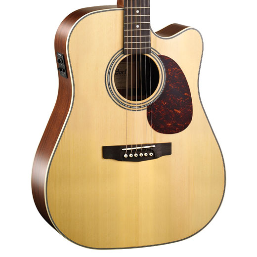 Cort MR600F Solid Spruce Top