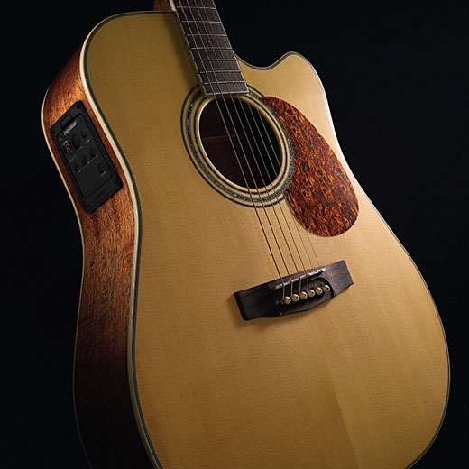 Cort MR710F-Left Hand Solid Sitka Spruce Top
