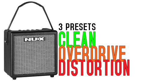 Mighty8BT Clean Overdrive & Distortion Presets