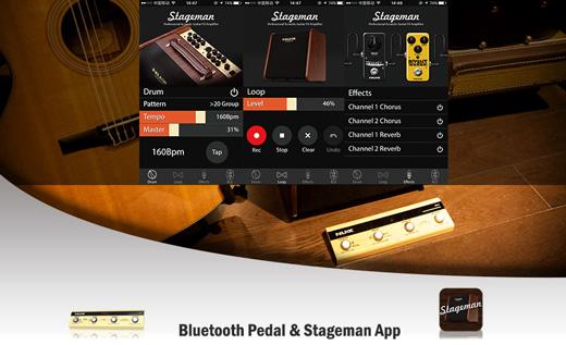 NU-X AC50 Stageman Bluetooth Control Pedal & Stageman App