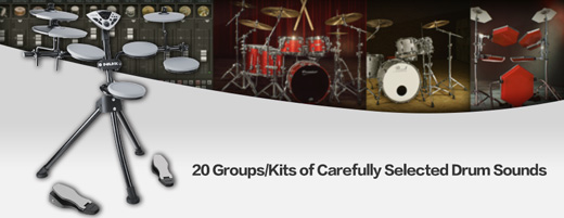 DM-1 20 Sampled Drum Kits