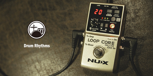 NU-X Loop Core Deluxe Drum Rhythms