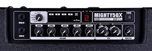 NU-X Mighty 50X Control Panel