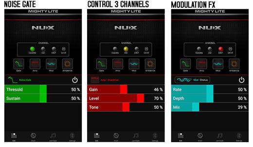 NU-X APP 3 Effects