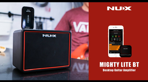 NU-X Mighty Lite Portable Bluetooth Guitar Amp