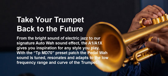 Zoom A1X FOUR Multi Effects for Trumpet