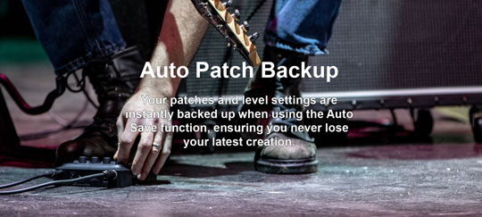 Zoom G1 FOUR Auto Patch Backup