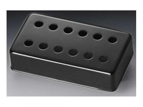 schaller pickup cover 12 hole humbucker 1148n black bc wholesalers. Black Bedroom Furniture Sets. Home Design Ideas