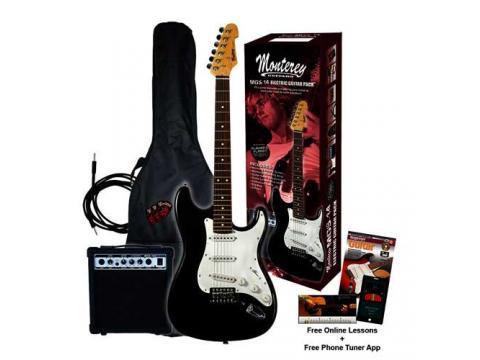 electric guitar amp starter pack bc wholesalers. Black Bedroom Furniture Sets. Home Design Ideas