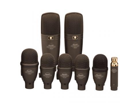 superlux 8 pce drum microphone set with case drkf5h3 bc wholesalers. Black Bedroom Furniture Sets. Home Design Ideas