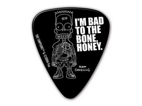 Drummer Bart Guitar Pick