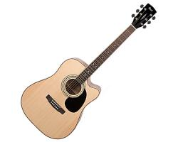 Cort AD880CE Acoustic Cutaway Guitar with Pickup