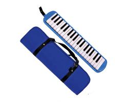 QM Musical 37-Key Melodica in Blue with Bag