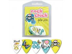 Rock Chick Guitar Pick 5 Pack # 2