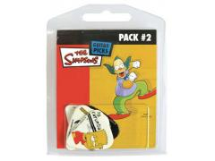 The Simpsons 5 Guitar Pick Multi Pack # 2