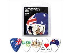 Australian Series Multi Guitar Pick Packs - Australia