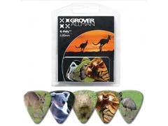Australian Series Multi Guitar Pick Pack - Australian Animals