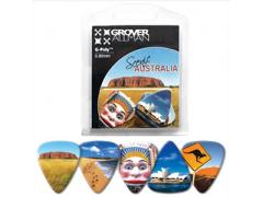 Australian Series Multi Guitar Pick Packs - Aussie Scenery