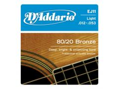 D'Addario 80/20 Bronze 12-53 Light - EJ11