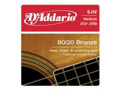 D'Addario 80/20 Bronze 13-56 Medium - EJ12