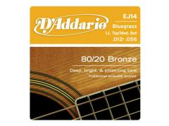D'Addario 80/20 Bronze 12-56 Blue Grass - EJ14