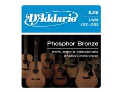 D'Addario Phosphor Bronze 12-53 Light - EJ16