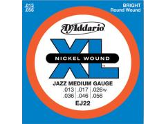 D'Addario Jazz 13-56 Medium -EJ22