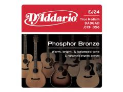 D'Addario Phosphor Bronze 13-56 True Medium - EJ24