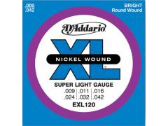 D'Addario XL 9-42 Super Light - EXL120