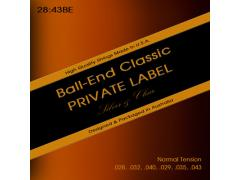 Private Label Classic 28-43 Normal Tension Ball-End