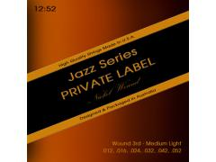 Private Label Jazz 12-52 Medium Light - Wound 3rd