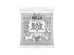 Ernie Ball Ernesto Palla Nylon Classic Silver & Black - 28/42 Medium Tension