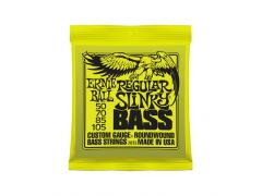 Ernie Ball Nickel Round Wound Slinky Bass - 50/105 Regular Slinky (Lime) 2832