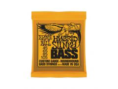 Ernie Ball Nickel Round Wound Slinky Bass - 45/105 Hybrid Slinky (Orange) 2833