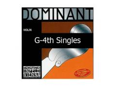 Thomastik Dominant Violin 133 G-4th Silver