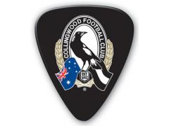 AFL Collingwood Magpies 5 Pack Guitar Picks