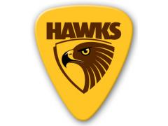 AFL Hawthorn Hawks 5 Pack Guitar Picks