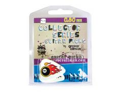 Collectors Series 5 Guitar Pick Pack - Flaming 8 Ball